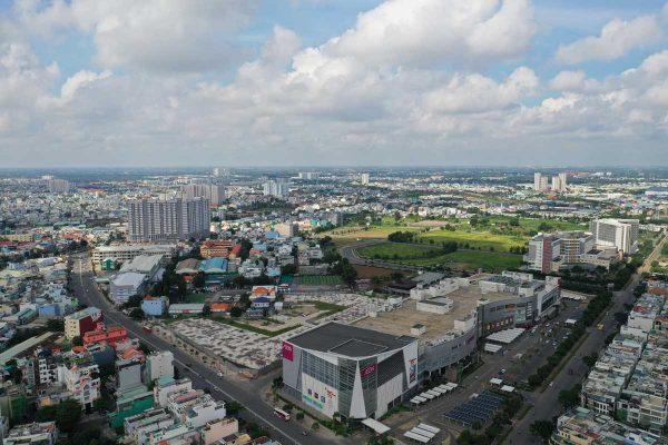 Tien do thi cong Du an Moonlight Centre Point ten lua thang 8 nam 2021